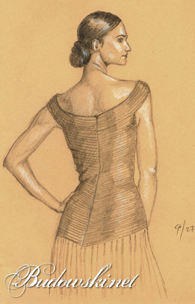 2010 09 27 woman standing sketch 800h