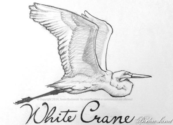 2014-03-30-white-crane-pencil